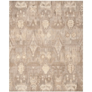 Safavieh Handmade Wyndham Natural/ Multi Wool Rug (9' x 12')