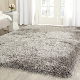 Safavieh Hand-Knotted Thom Filicia Silver Wool Rug (8' 6 x 12')
