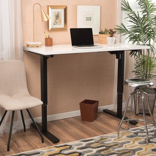 Christopher Knight Home Wendell 55-inch Adjustable Standing Desk with Single Powered Base