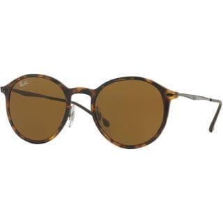 Ray-Ban RB4224 894/73 49mm Brown Classic Lenses Tortoise/Gunmetal Frame Sunglasses