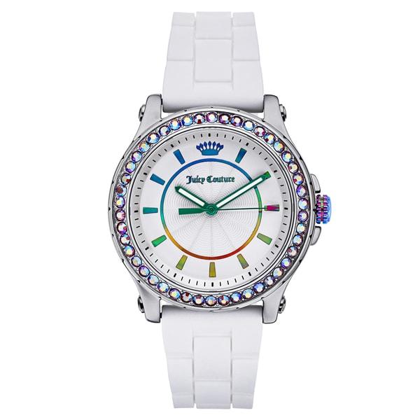 Juicy Couture Women's Crystal-Set Splash-Resistant Watch