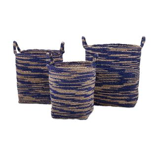 Cyprus Seagrass Baskets (Set of 3)