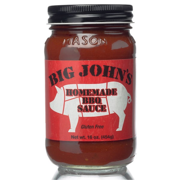 Circle B Ranch Big John's BBQ Sauce (Set of 2)
