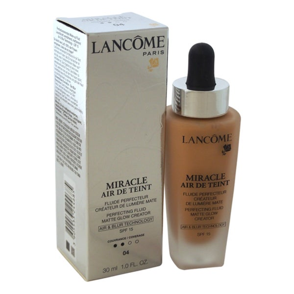 Lancome Miracle Air de Teint Perfecting Fluid Matte Glow Creator SPF 15 04 Beige Nature