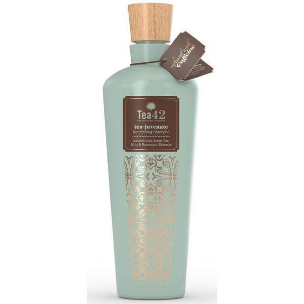 Tea42 Tea-Juvenate Sulfate Free 12-ounce Shampoo with Organic Green Tea Extract