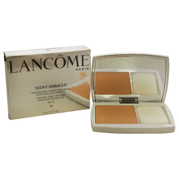 Lancome Teint Miracle Compact Foundation SPF 15 01 Beige Albatre