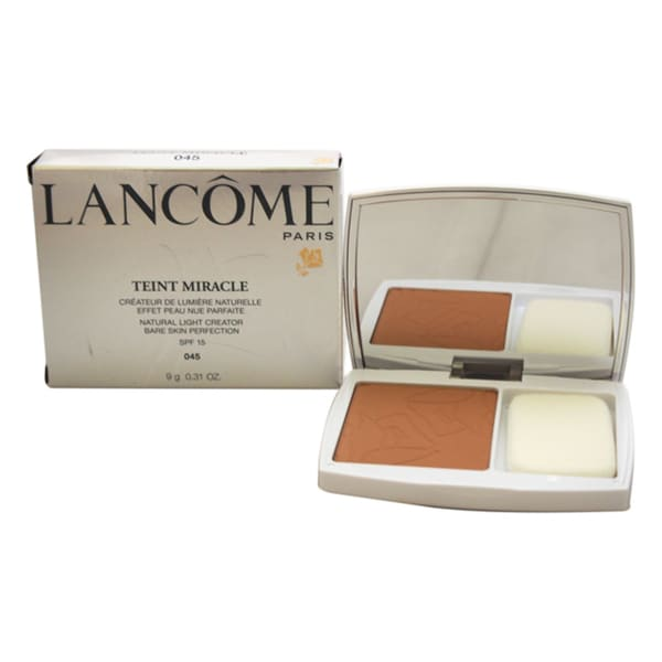 Lancome Teint Miracle Compact Foundation SPF 15 045 Sable Beige