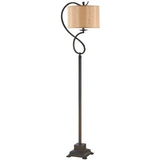 Crestview Collection 32.5-inch Rich Bronze Table Lamp