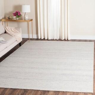 Safavieh Handmade Himalaya Silver Wool Rug (8' x 10')