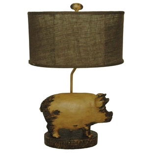 Crestview Collection 32-inch Umber Finish Table Lamp