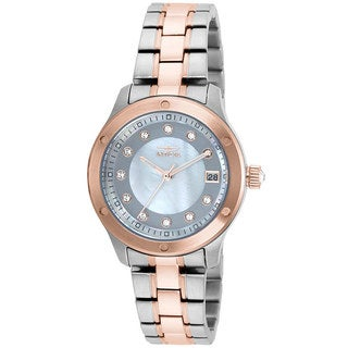 Invicta Women's Wildflower SS and Rose-Tone Watch