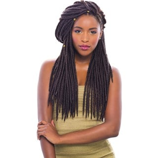 Sensationnel Synthetic Hair Crochet Braid 14-inch Faux Locks