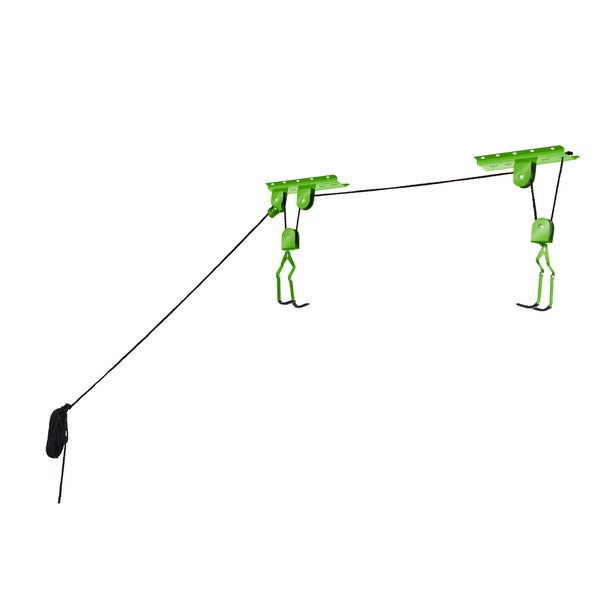Bike Lane Bicycle Storage Lift Bike Hoist 100LB Capacity Heavy Duty 2 Pack