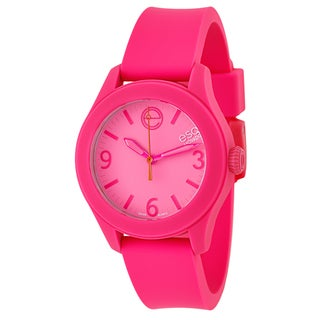 ESQ by Movado Women's Pink Rubber and Stainless Steel Swiss Quartz Watch