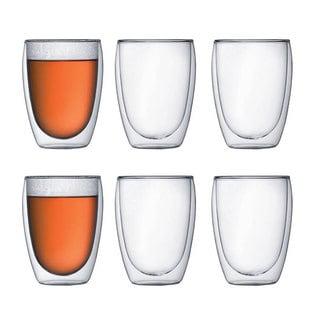 Bodum Pavina Double Wall 12-ounce Glass (Set of 6)