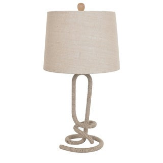Crestview Collection 27-inch White Wash Table Lamp