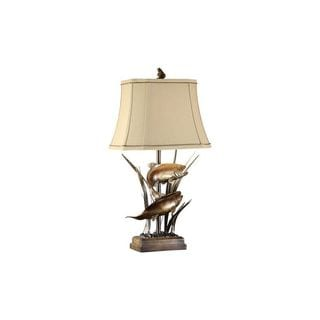 Crestview Collection 32-inch Bronze Patina Table Lamp