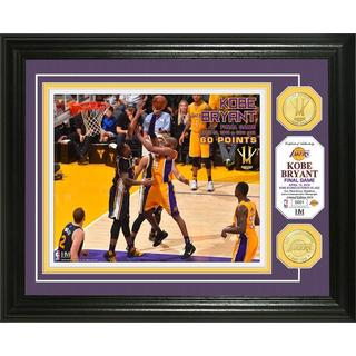 "Kobe Bryant ""Final Game"" 60 PT Bronze Coin Photo Mint"