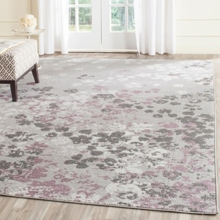 Safavieh Adirondack Light Grey/ Purple Rug (8' x 10')