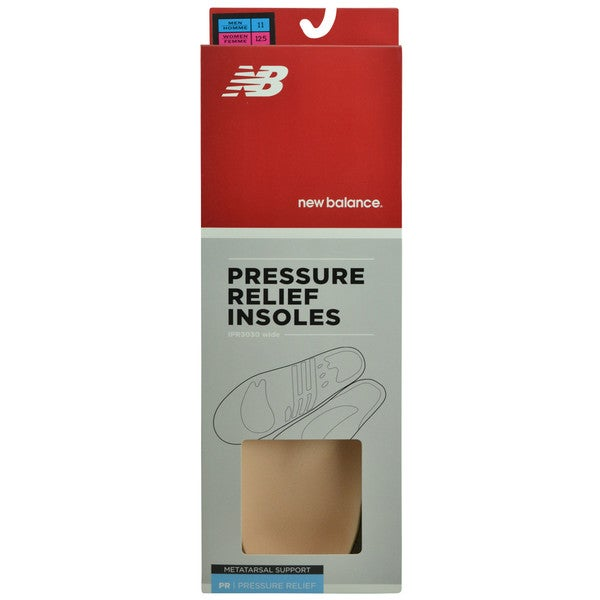 New Balance Pressure Relief Wide Insoles with Metatarsal Pad