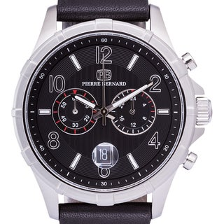 Pierre Bernard Arcturian Chronograph Men's Watch Multi-Layer Textured Dial