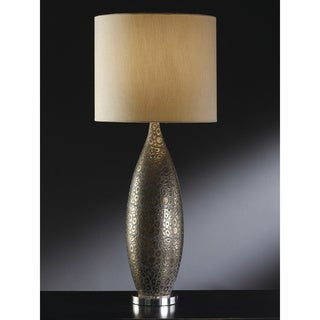 Crestview Collection 34.75-inch Cabot Yellow Table Lamp