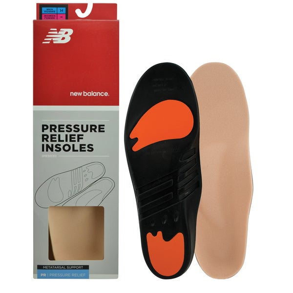 New Balance Pressure Relief Insoles with Metatarsal Pad 18295240