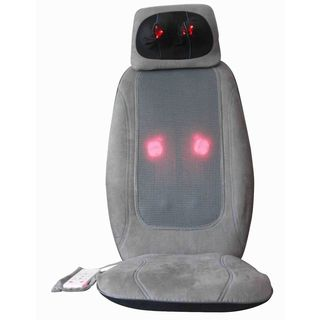 iLiving Shiatsu Portable Back/Neck Massager with Heat Therapy