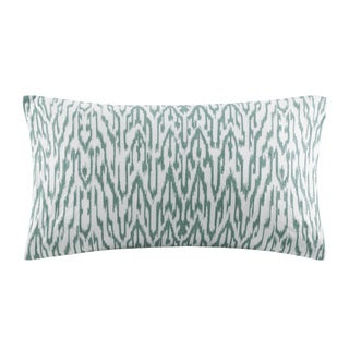 INK+IVY Martina Embroidered Cotton Decorative Pillow