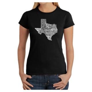LA Pop Art Women's Texas State T-Shirt
