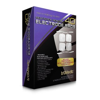 truMedic TENS Unit OEM Electrode Replacement Pads (40 Count)