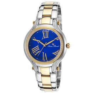 Lucien Piccard Elisia Two-Tone Stainless Steel Blue Dial Watch