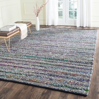 Safavieh Hand-Woven Cape Cod Multi/ Natural Cotton Rug (9' x 12')