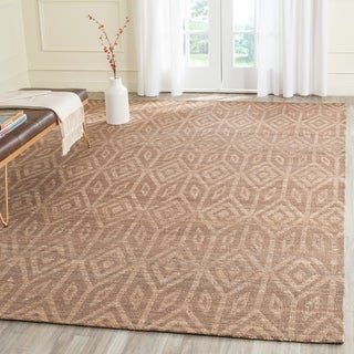 Safavieh Hand-Woven Cape Cod Camel Cotton Rug (9' x 12')