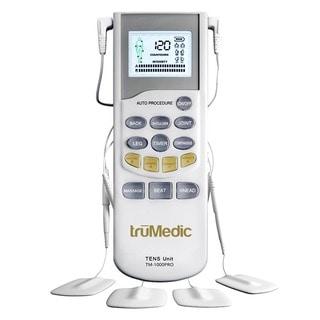 truMedic TM-1000PRO Deluxe TENS Unit Electronic Pulse Massager