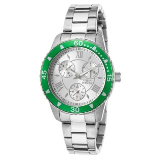 Invicta Women's Angel Stainless Steel Silver-Tone Dial Watch