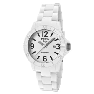 Invicta Women's Angel White Plastic and Dial Watch