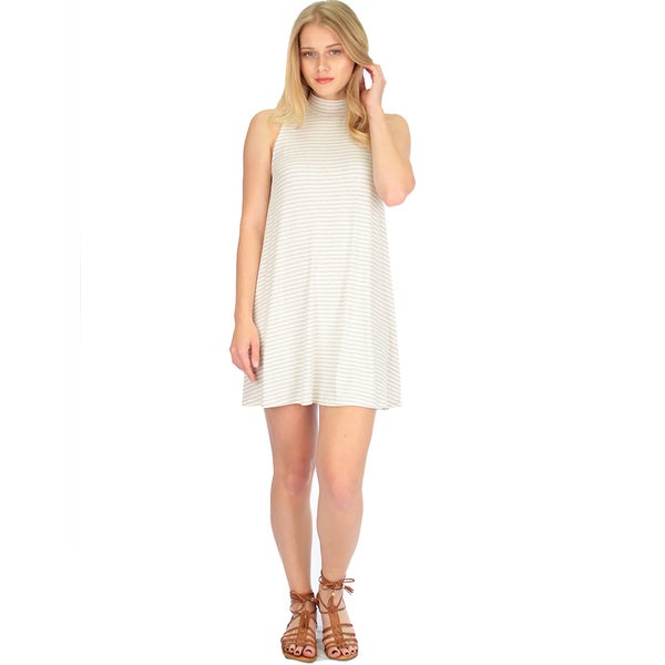 Women's Striped Tank Shift Dress