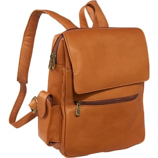 LeDonne Leather Women's Backpack with Tablet/E-Reader Sleeve