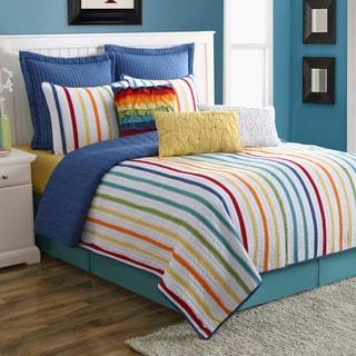 Fiesta Baja Stripe 3-piece Quilt Set