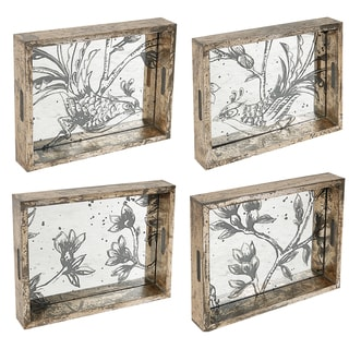Fontanne Medium Decorative Trays (Set of 4)