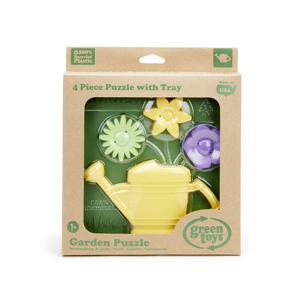 Green Toys Gardening 3D Puzzle (Colors Vary)