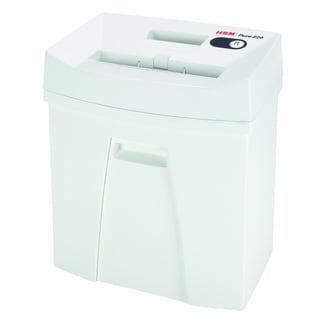 HSM Pure 220, 13-15 Sheets, Strip-Cut, 5.3-gallon capacity
