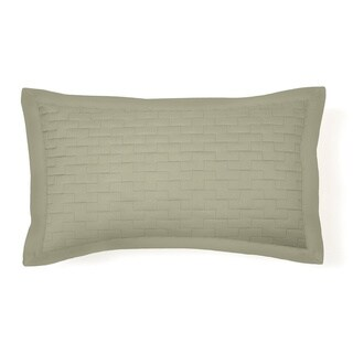 Hotel Sleep at Home Quilted Madison Microfiber Sham