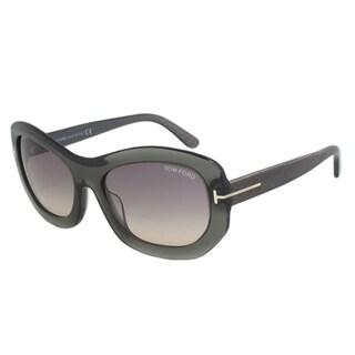Tom Ford FT0382 20B Amy Rectangular Sunglasses