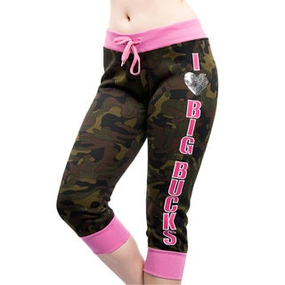 Special One Women's Camouflage Fleece Capri Leggings
