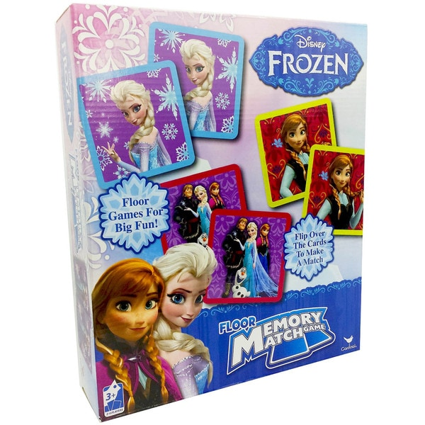 Dinsey Frozen Floor Memory Match Game with 54-pieces 18300405