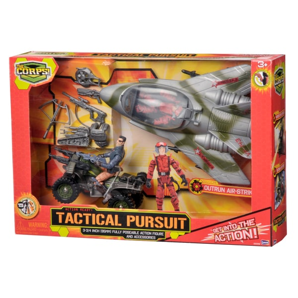 The Corps Tactical Pursuit Set with Plane