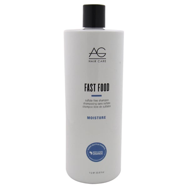 AG Hair Care Moisture Fast Food 33.8-ounce Sulfate Free Shampoo