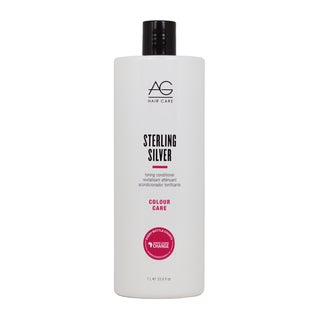 AG Hair Care Colour Sterling Silver Toning 33.8-ounce Conditioner